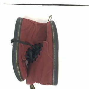 Dr. Martens Men's Sz 7 Dark Red Canvas